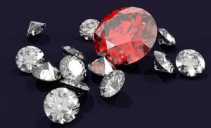 世界の四大宝石の価値