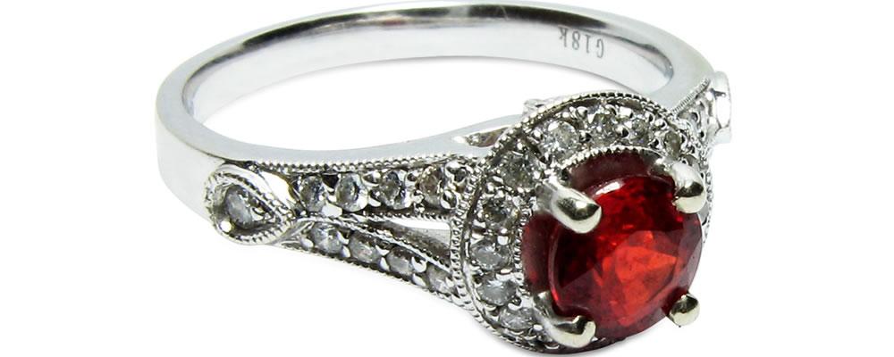 憧れの指輪